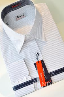 Košile s proužkem SLIM Fit